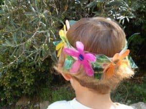 זר פרחים ססגוני לחג שבועות
